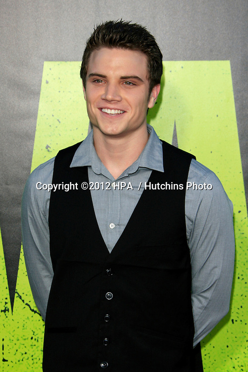 """LOS ANGELES - JUN 25:  Cameron Deane Stewart arrives at the """"Savages"""" Premiere at Village Theater on June 25, 2012 in Westwood, CA"""