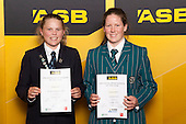 Girls Cricket finalists Georgia Guy and Lauren Down. ASB College Sport Young Sportsperson of the Year Awards held at Eden Park, Auckland, on November 24th 2011.