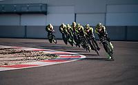 TTT training at the Circuito de Almeria Fans<br /> <br /> Michelton-Scott training camp in Almeria, Spain<br /> february 2018