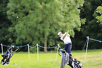 Rhys Enoch (WAL) plays his 2nd shot on the 16th hole during Sunday's Final Round of the Northern Ireland Open 2018 presented by Modest Golf held at Galgorm Castle Golf Club, Ballymena, Northern Ireland. 19th August 2018.<br /> Picture: Eoin Clarke | Golffile<br /> <br /> <br /> All photos usage must carry mandatory copyright credit (&copy; Golffile | Eoin Clarke)