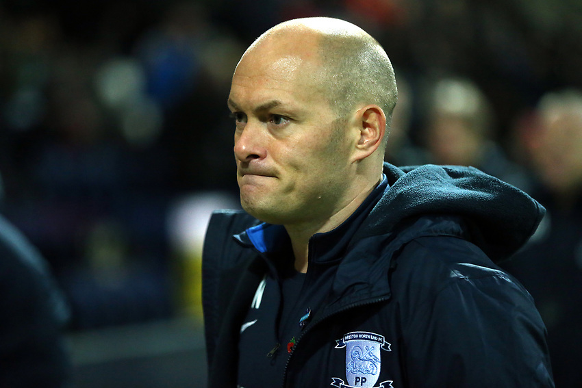 Preston North End manager Alex Neil <br /> <br /> Photographer Stephen White/CameraSport<br /> <br /> The EFL Sky Bet Championship - Preston North End v Middlesbrough - Tuesday 27th November 2018 - Deepdale Stadium - Preston<br /> <br /> World Copyright © 2018 CameraSport. All rights reserved. 43 Linden Ave. Countesthorpe. Leicester. England. LE8 5PG - Tel: +44 (0) 116 277 4147 - admin@camerasport.com - www.camerasport.com