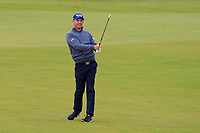 Padraig Harrington (IRL) on the 4th fairway during Round 2 of the Alfred Dunhill Links Championship 2019 at Kingbarns Golf CLub, Fife, Scotland. 27/09/2019.<br /> Picture Thos Caffrey / Golffile.ie<br /> <br /> All photo usage must carry mandatory copyright credit (© Golffile | Thos Caffrey)