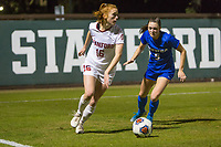 STANFORD, CA - NOVEMBER 22: Stanford, CA - November 22, 2019: Beattie Goad at Laird Q. Cagan Stadium. The Stanford Cardinal defeated Hofstra 4-0 in the second round of the NCAA tournament. during a game between Hofstra and Stanford Soccer W at Laird Q. Cagan on November 22, 2019 in Stanford, California.
