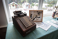 Antique items on exhibit by the Bonita Springs Historical Society at the Liles Hotel, Bontia Springs, Florida, USA, Dec. 22, 2011. Photo by Debi Pittman Wilkey.