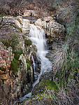 Waterfall in late winter, Rock Creek, Calaveras Co., Calif.