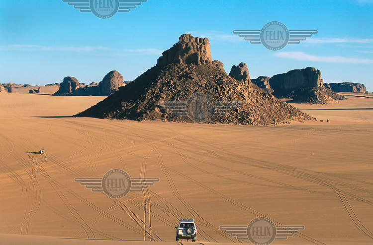 The Tassili desert, near Djanet in the south of the country.