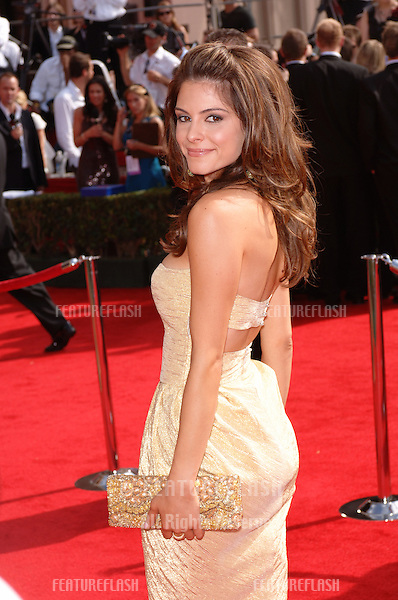 MARIA MENOUNOS at the 57th Annual Primetime Emmy Awards in Los Angeles..September 18, 2005  Los Angeles, CA..© 2005 Paul Smith / Featureflash