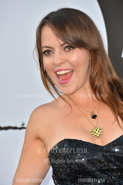 """Olga Kay at the premiere for """"The Equalizer 2"""" at the TCL Chinese Theatre, Los Angeles, USA 17 July 2018<br /> Picture: Paul Smith/Featureflash/SilverHub 0208 004 5359 sales@silverhubmedia.com"""