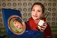 Geraldine Emerson from Stonewell Ros, Nohoval, Cork who won the Supreme Champion Award for their cider   at the Blas na hEireann / Irish Food Awards in Dingle at the weekend.<br /> Photo: Don MacMonagle<br /> <br /> REPRO   PHOTO WITH BLAS NA HEIREANN<br /> further info: Barbara Collins - collib40@googlemail.com  tel: 0879535339 <br /> <br /> <br /> &copy; Photo by Don MacMonagle - macmonagle.com<br /> info@macmonagle.com