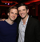 Ryan Spahn and Michael Urie attends The New York Drama Critics' Circle Awards at Feinstein's/54 Below on May 10, 2018 in New York City.