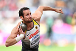 Kai KAZMIREK (GER) in the mens decathlon shot put. IAAF world athletics championships. London Olympic stadium. Queen Elizabeth Olympic park. Stratford. London. UK. 11/08/2017. ~ MANDATORY CREDIT Garry Bowden/SIPPA - NO UNAUTHORISED USE - +44 7837 394578