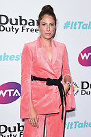 LONDON, UK. June 28, 2019: Johanna Konta arriving for the WTA Summer Party 2019 at the Jumeirah Carlton Tower Hotel, London.<br /> Picture: Steve Vas/Featureflash