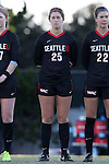 21 November 2014: Seattle's Mariah O'Neil. The University of South Carolina Gamecocks played the Seattle University Redhawks at Fetzer Field in Chapel Hill, NC in a 2014 NCAA Division I Women's Soccer Tournament Second Round match. South Carolina advanced by winning the Penalty Shootout 2-1 after the game ended in a 0-0 tie after double overtime.