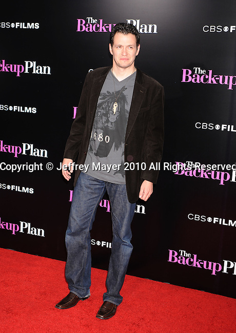 "WESTWOOD, CA. - April 21: Tom Malloy attends the ""The Back-Up Plan"" Los Angeles Premiere at Regency Village Theatre on April 21, 2010 in Westwood, California."