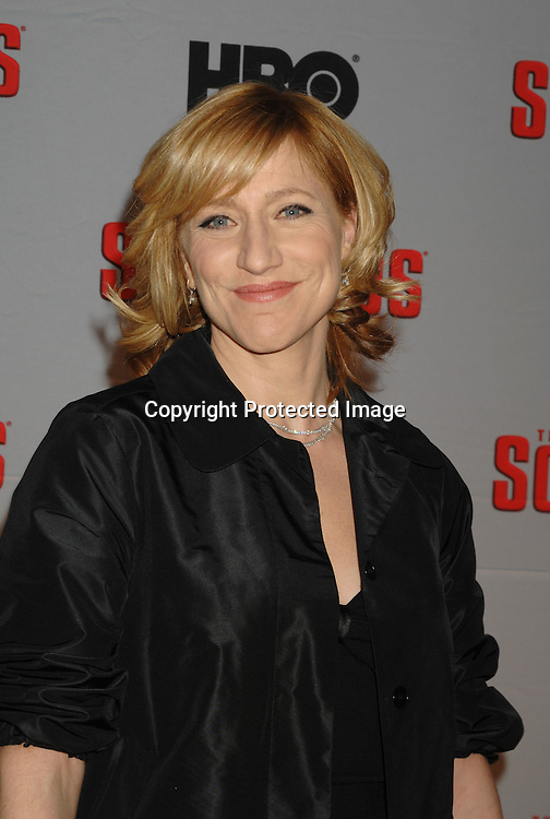 Edie Falco ..arriving at The Sopranos World Premiere of two new episodes of the HBO original series on March 27, 2007 at..Radio City Music Hall in New York...Robin Platzer, Twin Images