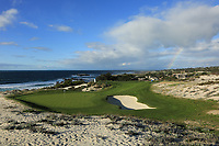 A general view of the 3rd hole Par 3, Spyglass Hill Golf Course during previews ahead of the AT&amp;T Pro-Am, Pebble Beach Golf Links, Monterey, California, USA. 06/02/2019<br /> Picture: Golffile | Phil Inglis<br /> <br /> <br /> All photo usage must carry mandatory copyright credit (&copy; Golffile | Phil Inglis)