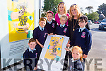 Pupils from Ardfert NS who were One Good Idea Seal National Winners Gary O'Riordan,Tiernan O'Sullivan,Craoi Horgan,Adam McDonagh,Timmy McElligott,Sarah Bodenham and teachers Betty Stack (Principal) and marie O'Connell (teacher).
