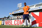 22 July 2016: Carolina's Tiyi Shipalane (RSA). The Carolina RailHawks hosted Miami FC at WakeMed Stadium in Cary, North Carolina in a 2016 North American Soccer League Fall Season game. The game ended in a 3-3 tie.