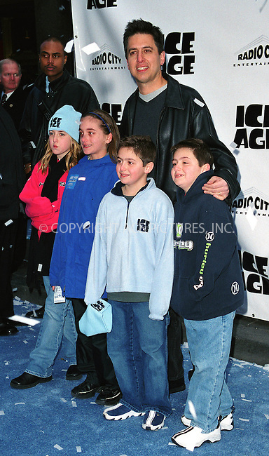 """Actor RAY ROMANO attends the world premiere of """"Ice Age"""" at the Radio City Music Hall in New York. March 10, 2002. © 2002 by Alecsey Boldeskul/NY Photo Press.   ..*PAY-PER-USE*      ....NY Photo Press:  ..phone (646) 267-6913;   ..e-mail: info@nyphotopress.com"""