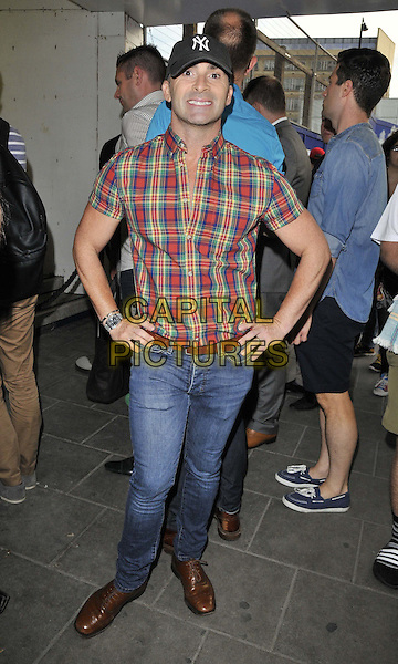 LONDON, ENGLAND - JULY 16: Louie Spence attends the Attitude Magazine's World Sexiest Men 2014 summer party, The Paramount Club, 31st floor, Centre Point, New Oxford St., on Wednesday July 16, 2014 in London, England, UK.<br /> CAP/CAN<br /> &copy;Can Nguyen/Capital Pictures