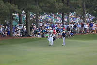 Tiger Woods (USA) on the 17th fairway during the 1st round at the The Masters , Augusta National, Augusta, Georgia, USA. 11/04/2019.<br /> Picture Fran Caffrey / Golffile.ie<br /> <br /> All photo usage must carry mandatory copyright credit (&copy; Golffile | Fran Caffrey)