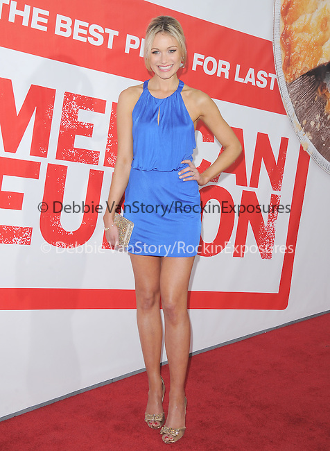 Katrina Bowden at The Universal Pictures' L.A. Premiere of American Reunion held at The Grauman's Chinese Theatre in Hollywood, California on March 19,2012                                                                               © 2012 Hollywood Press Agency