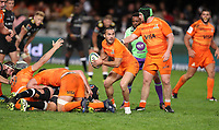 DURBAN, SOUTH AFRICA - JULY 14: Martin Landajo of the Jaguares during the Super Rugby match between Cell C Sharks and Jaguares at Jonsson Kings Park on July 14, 2018 in Durban, South Africa. Photo: Steve Haag / stevehaagsports.com