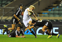 Rugby Union. Twickenham, England. Fran Matthews of England during the QBE international match between England and New Zealand Black Ferns at Twickenham Stadium on December 01, 2012 in Twickenham, England.