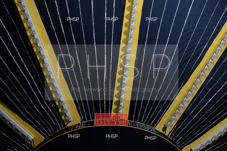 Ballroom stage canopy