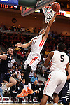 March 7, 2015; Las Vegas, NV, USA; Pepperdine Waves guard Shawn Olden (21) shoots the basketball against the San Diego Toreros during the first half of the WCC Basketball Championships at Orleans Arena.