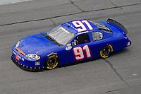 Jul. 3, 2008; Daytona Beach, FL, USA; Nascar Nationwide Series driver Justin Hobgood during practice for the Winn-Dixie 250 at Daytona International Speedway. Mandatory Credit: Mark J. Rebilas-