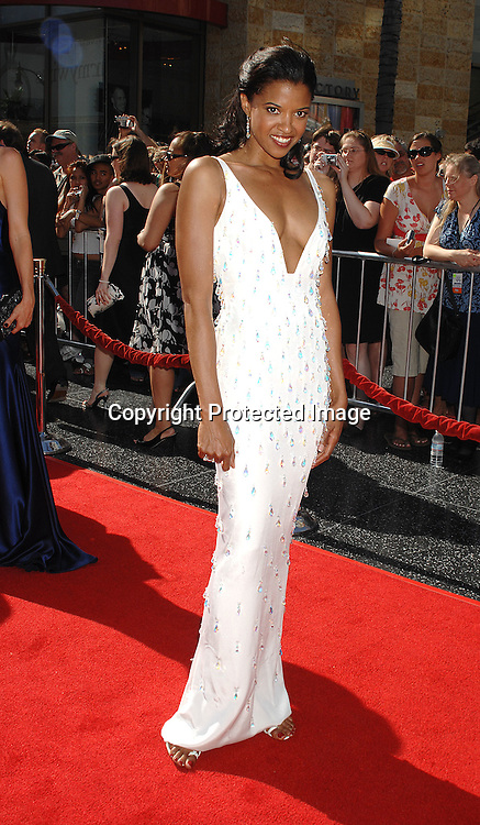 Renee Goldsberry in CD Greene Dress..arriving at The 34th Annual Daytime Emmy Awards on ..June 15, 2007 at The Kodak Theatre in Hollywood, California. ..Robin Platzer, Twin Images......212-935-0770