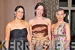 HUNT BALL: Having a wonderful time at the North Kerry Harries Hunt Ball at the Ballygarry House hotel and Spa on Friday l-r: Caroline O'Connor, Nessa Fitzmaurice and Helena O'Connor, Castleisland.....Pic no.6