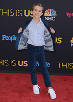 """HOLLYWOOD- SEPTEMBER 26:  Parker Bates at the premiere of NBC's """"This Is Us"""" Season 2 at NeueHouse Hollywood on September 26, 2017 in Hollywood, California. (Photo by Scott Kirkland/PictureGroup)"""