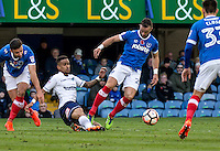 Paris Cowan-Hall of Wycombe Wanderers during the FA Cup 1st round match between Portsmouth and Wycombe Wanderers at Fratton Park, Portsmouth, England on the 5th November 2016. Photo by Liam McAvoy.