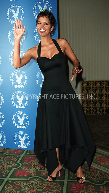 Halle Berry at the 3rd Annual Directors Guild of America Awards. New York, June 9, 2002. Please byline: Alecsey Boldeskul/NY Photo Press.   ..*PAY-PER-USE*      ....NY Photo Press:  ..phone (646) 267-6913;   ..e-mail: info@nyphotopress.com