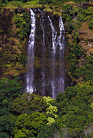 Opaekaa Falls, pools and rainforest, Kauai