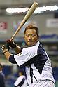 Sho Nakata (JPN),<br /> NOVEMBER 15, 2014 - Baseball : <br /> 2014 All Star Series Game 3 between Japan 4-0 MLB All Stars <br /> at Tokyo Dome in Tokyo, Japan. <br /> (Photo by Shingo Ito/AFLO SPORT)[1195]