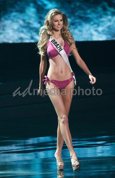 16 December 2015 - Las Vegas, Nevada - Miss Brazil, Martina Brandt.  2015 Miss Universe Pageant Preliminary Competition at the Axis at Planet Hollywood. Photo Credit: MJT/AdMedia