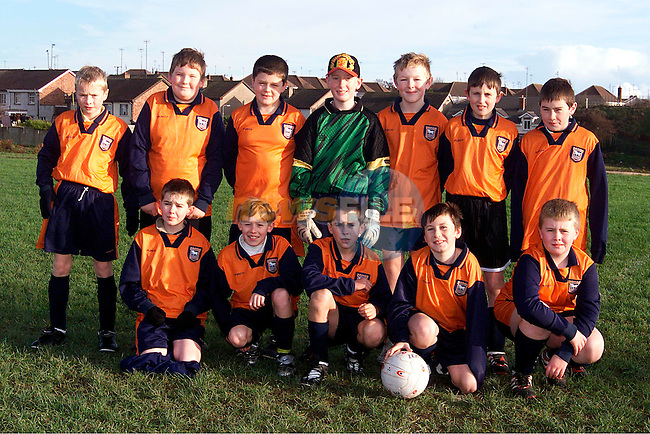 Boyne Orange who played Slane at Little Wembley on Sunday. Pictured are Back Row L/R, Lorcan McQuillan, Owen Campbell, David Lambe, Enda Maguire, Noel Donnelly, Luke Mullen and Patrick Cowley. Front Row L/R, Mark Hurley, Cillian Matthews, Kevin Leech, Michael Owens and Robert Byrne..Picture: Paul Mohan/Newsfile
