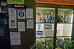 Trophies won by Cammell Laird FC in the Lairds Social Club opposite their ground at Kirklands, Birkenhead. Formed in 1907, Lairds joined the English pyramid in 2004 and gained three promotions in five years, but financial problems forced the club to revert to amateur status in December 2008. Previously they had competed in the West Cheshire League, which they won on 19 occasions.