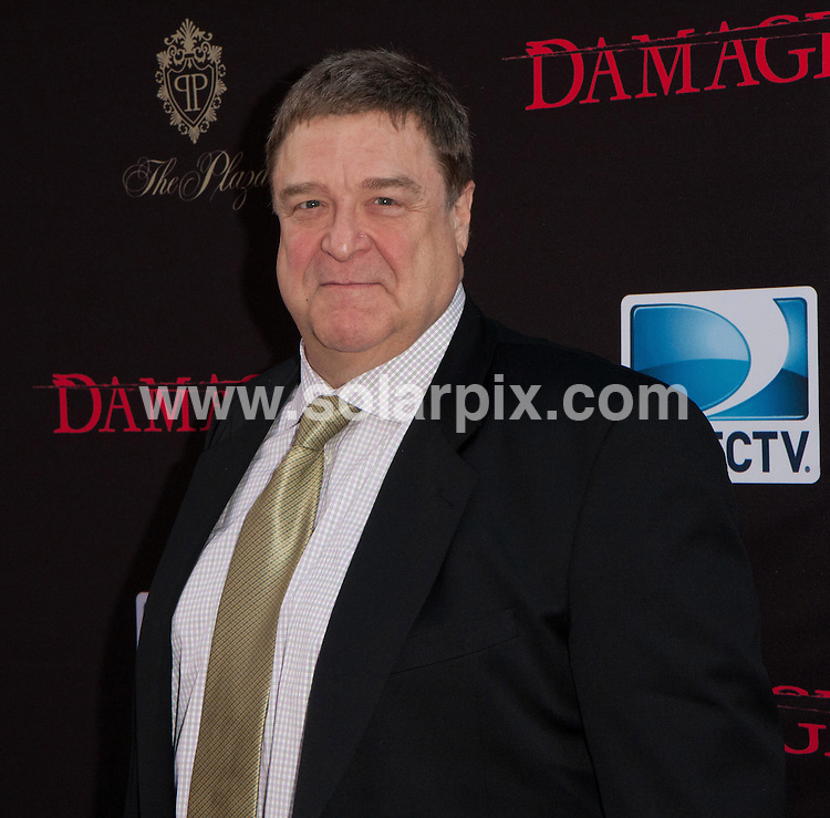 **ALL ROUND PICTURES FROM SOLARPIX.COM**                                             **SYNDICATION RIGHTS FOR UK, AUSTRALIA, DENMARK, PORTUGAL, S. AFRICA, SPAIN & DUBAI (U.A.E) & ASIA (EXCLUDING JAPAN) ONLY**                                                                                  Caption: Arrivals for the Damages Season Four Premiere, held at the Paris Theater, New York City, NY, USA. 29 June 2011                                                                             This pic: John Goodman                                                                                          JOB REF: 13651 PHZ Norfleet      DATE: 29_06_2011                                                            **MUST CREDIT SOLARPIX.COM OR DOUBLE FEE WILL BE CHARGED**                                                                      **MUST AGREE FEE BEFORE ONLINE USAGE**                               **CALL US ON: +34 952 811 768 or LOW RATE FROM UK 0844 617 7637**