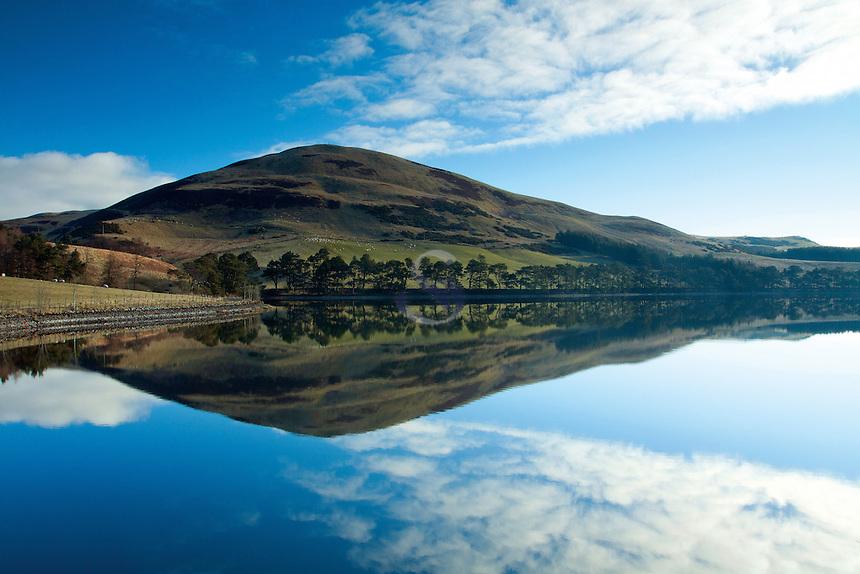 Glencorse Reservoir and Castlelaw, The Pentland Hills Regional Park, Lothian