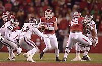 NWA Democrat-Gazette/BEN GOFF @NWABENGOFF<br /> Arkansas vs Mississippi State on Saturday Nov. 21, 2015 during the game in Razorback Stadium in Fayetteville.