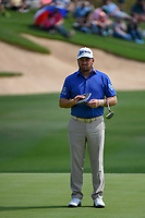 Graeme McDowell (NIR) looks over his putt on 18 during day 3 of the Valero Texas Open, at the TPC San Antonio Oaks Course, San Antonio, Texas, USA. 4/6/2019.<br /> Picture: Golffile | Ken Murray<br /> <br /> <br /> All photo usage must carry mandatory copyright credit (© Golffile | Ken Murray)