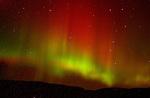 Aurora borealis, Lycoming County, PA.