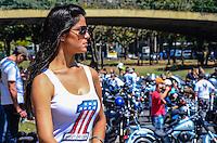 ATENCAO EDITOR: FOTO EMBARGADA PARA VEICULOS INTERNACIONAIS. - RIO DE JANEIRO, RJ,16 DE SETEMBRO 2012 - RIO HARLEY DAYS 2012- Preparativos para o comboio no Harley Days 2012, sucesso na Espanha, Franca, Alemanha e Croacia, o evento desembarca para sua segunda edicao no Brasil, na avenida Presidente Vargas no centro do Rio de Janeiro.(FOTO: MARCELO FONSECA / BRAZIL PHOTO PRESS).
