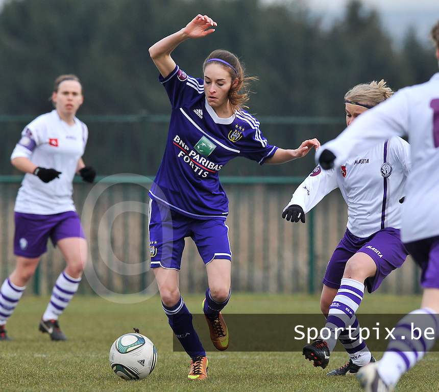 RSC Anderlecht Dames - Beerschot : Tessa Wullaert.foto DAVID CATRY / Vrouwenteam.be