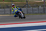 MotoGP riders practice before the Red Bull Grand Prix of the Americas at the Circuit of the Americas racetrack in Austin,Texas.