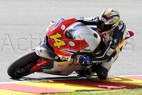 06 06 2010 Ratthapark Wilairot THA Bimota. Moto2 class, 600cc spec Honda eninges in prototype chassis. Gran Premio d'Italia TIM, Mugello circuit, Italy.